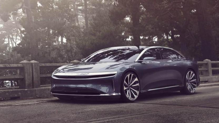 Elektroauto Lucid Air: mehrere Ex-Tesla-Manager in der Unternehmensleitung