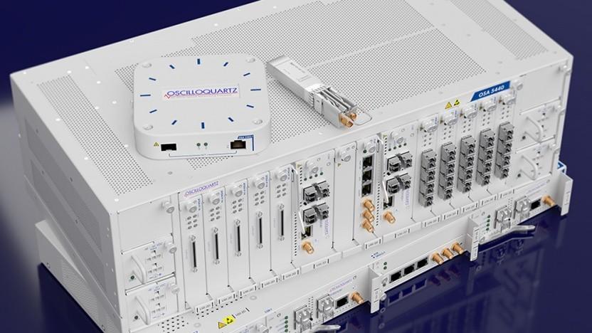 ADVA zeigt Technik mit Nokia.