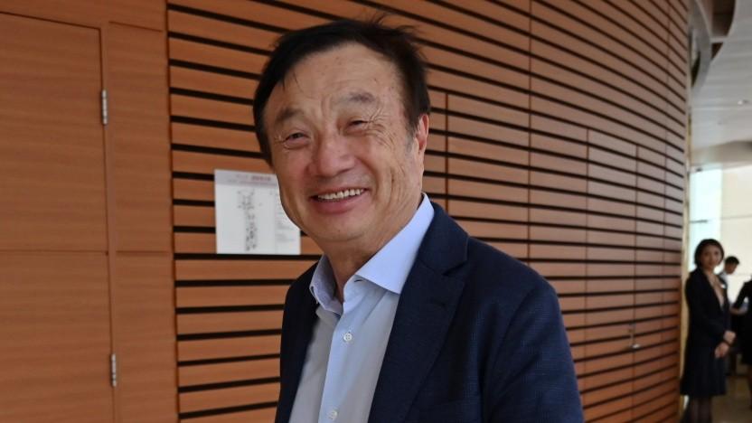 Ren Zhengfei am 17. Juni in Shenzhen