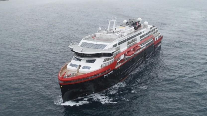 MS Roald Amundsen: Einige Fjorde dürfen ab 2026 nur noch von emissionsfreien Schiffen befahren werden.