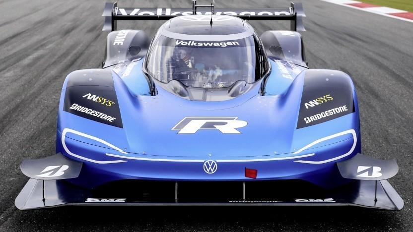Volkswagen ID.R beim Goodwood Festival of Speed.