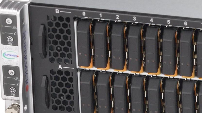 Server-Lösung mit E1.S-Einschüben
