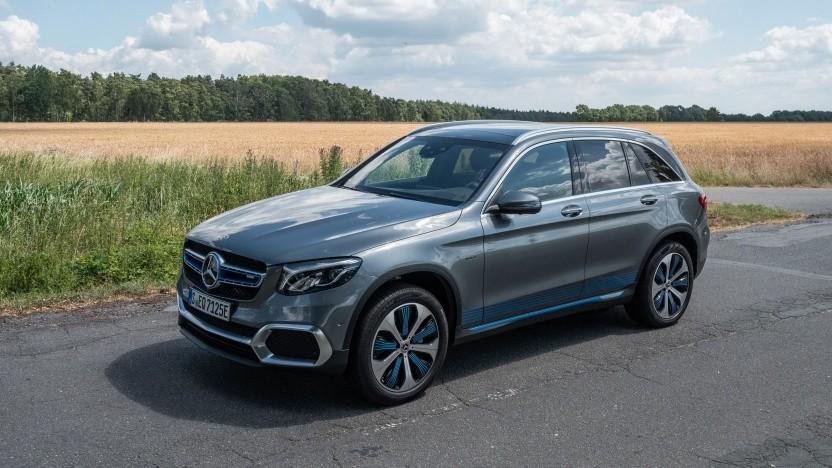 Brennstoffzellenauto Mercedes GLC F-Cell: in drei Minuten betankt