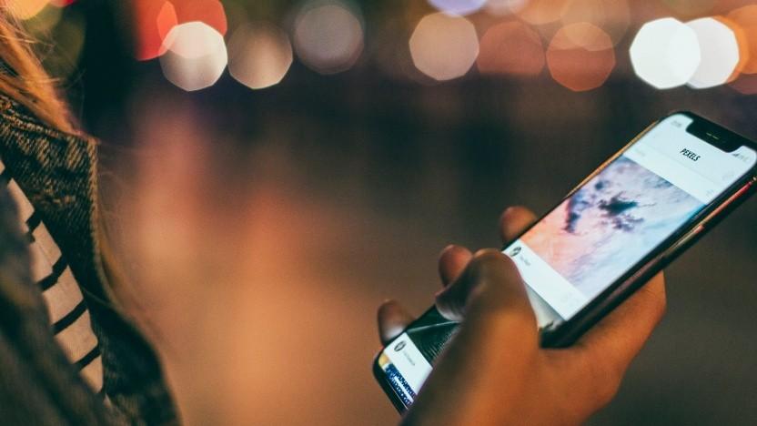 iPhones können durch Textnachrichten Probleme bekommen.