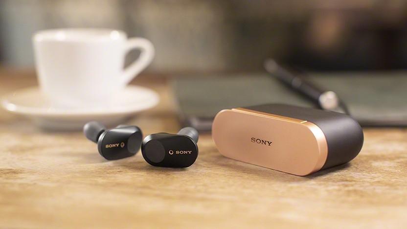 Die neuen True-Wireless-Kopfhörer von Sony