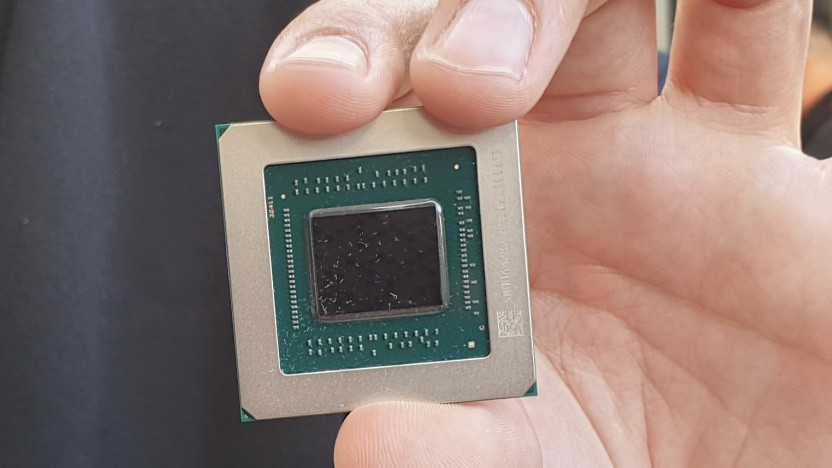 Navi-Chip einer Radeon RX 5700 (XT)