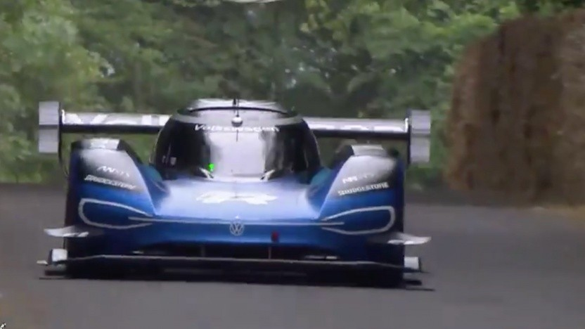 VW ID.R auf dem Goodwood Festival of Speed