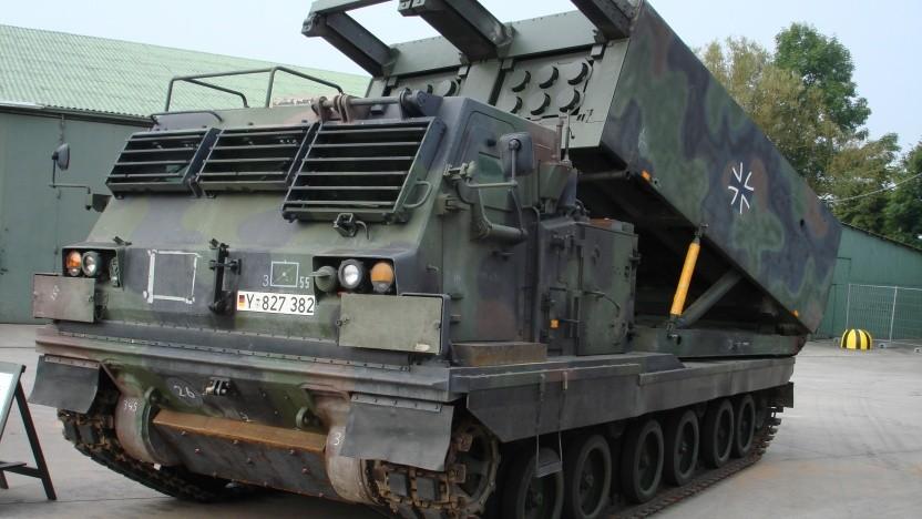 Anleitung auf Laptop vergessen: Mittleres Artillerie-Raketen-System der Bundeswehr (Mars)
