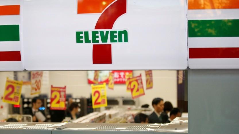 Ein 7-Eleven-Laden in Tokyo