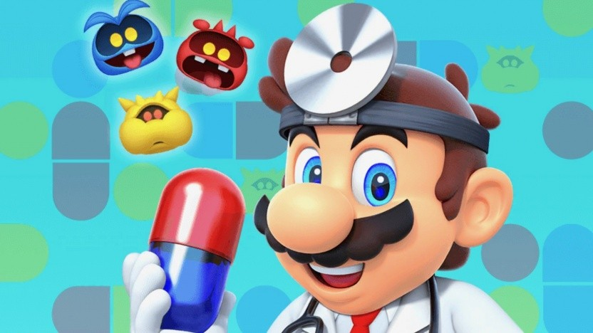 Artwork von Dr. Mario World