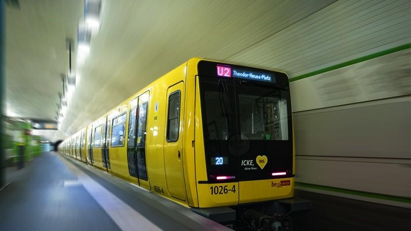 Das Berliner Kleinprofil, hier ein Zug der Baureihe IK (Icke), wird bei Google nicht korrekt angezeigt.