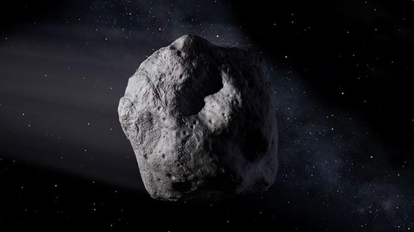 Asteroid (Symbolbild): 151 Tage für eine Sonnenumkreisung