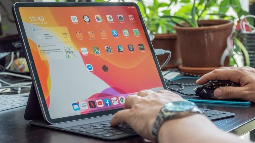 Das iPad Pro 12.9 mit iPad OS im Einsatz