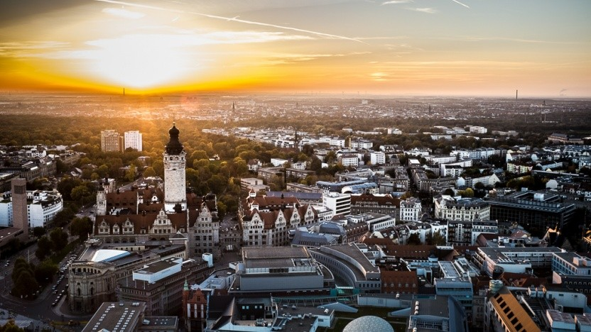 Leipzig ist zu einem beliebten Standort geworden.