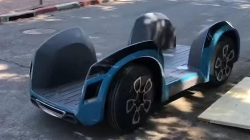 Ree zeigt Anwendungsmöglichkeiten ihrer fahrenden Plattform (Herstellervideo)