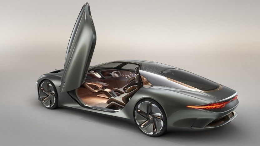 Konzeptstudie EXP 100 GT