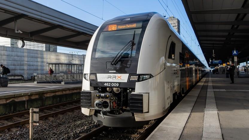 Der neue RRX (Desiro High Capacity) in Essen kann ab 2020 auch mit dem Nextticket 2.0 genutzt werden.