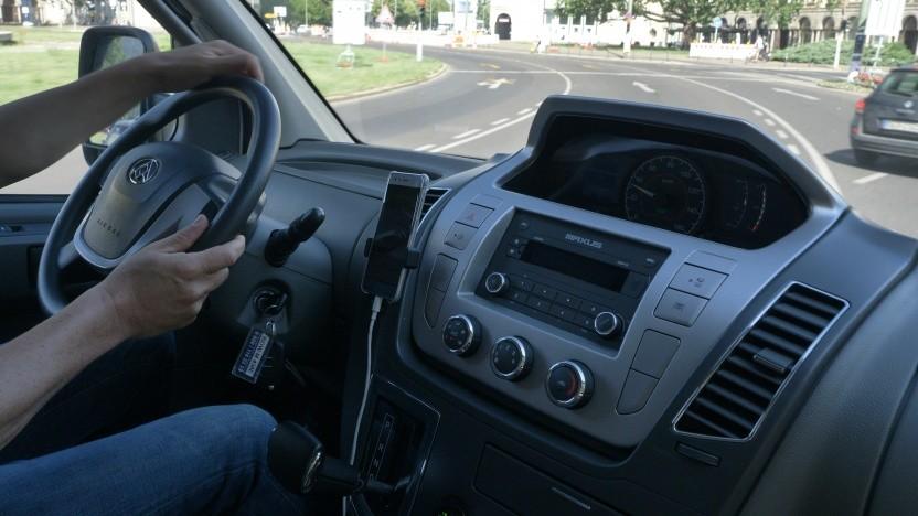 Der elektrische Transporter Maxus EV80 von SAIC im Video