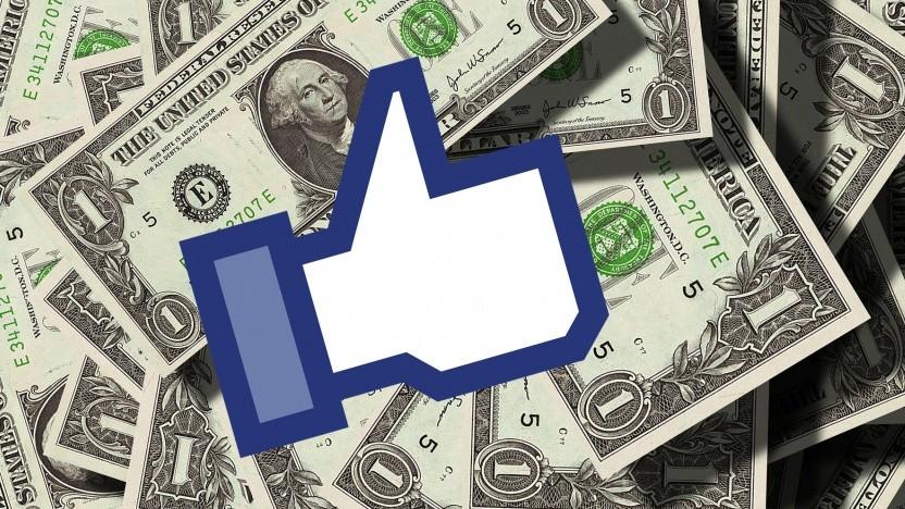 Facebook zahlt eine verhältnismäßig geringe Summe.