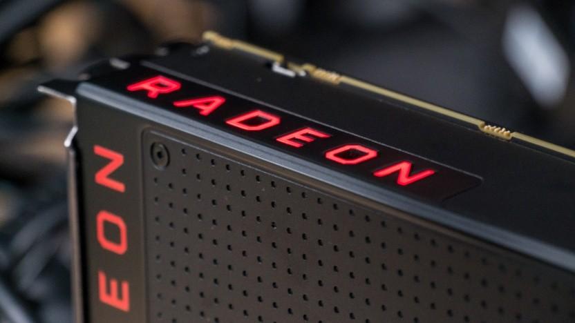 Eine ältere Radeon RX Vega 64