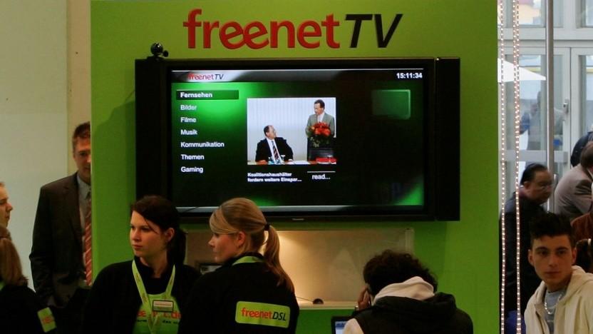 Freenet-Werbung
