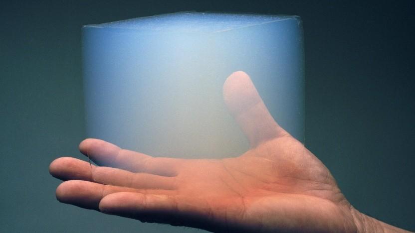 Aerogel: auch gefrorener Rauch genannt