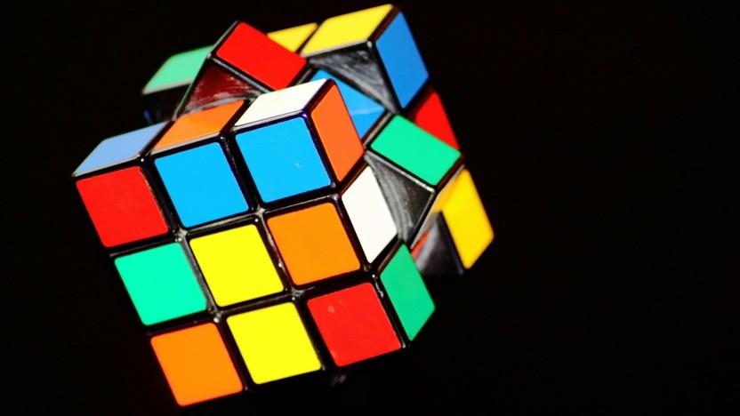Der Zauberwürfel ist ein beliebtes Puzzle.