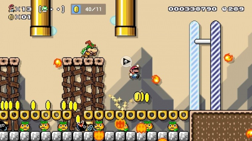 Artwork von Super Mario Maker 2