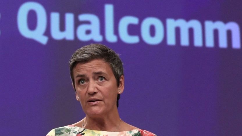 EU-Kommissarin Margrethe Vestager im Verfahren gegen Qualcomm
