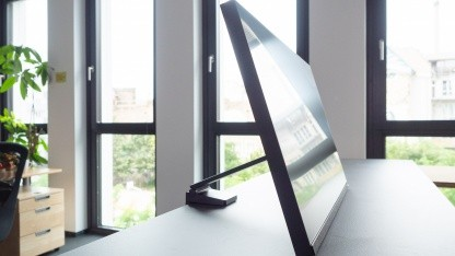 Samsung Space im Kurztest: Platz auf dem Desktop, Platz auf dem Schreibtisch