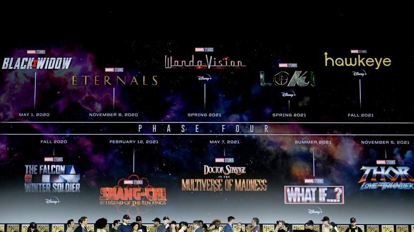 Marvel hat den Plan für kommende Filme und Serie gezeigt.