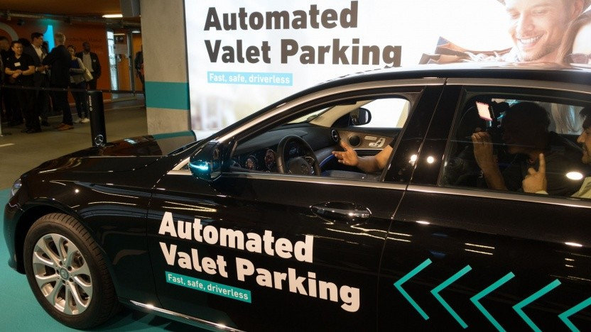 Automated Valet Parking: bis zu 20 Prozent mehr Parkfläche