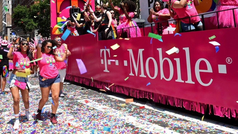 T-Mobile US beim New York Pride 2019