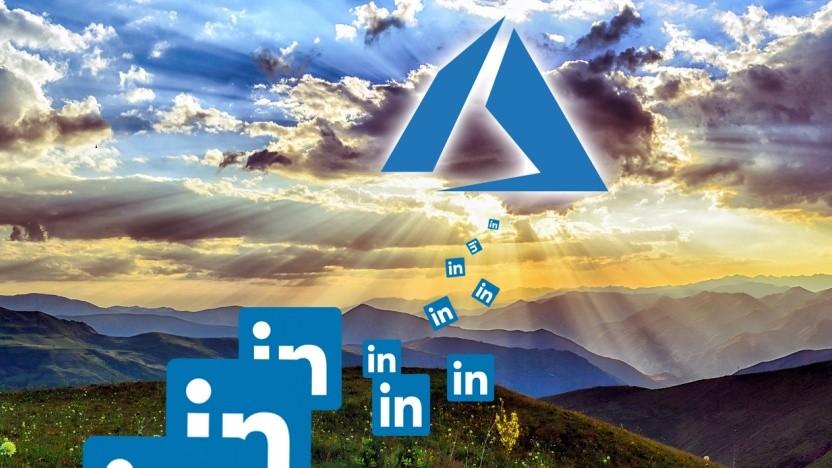 LinkedIn migriert in die Azure-Cloud.