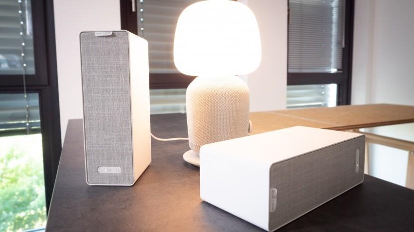 Ikeas Symfonisk-Lautsprecher - einmal mit Lampenfunktion (im Video)