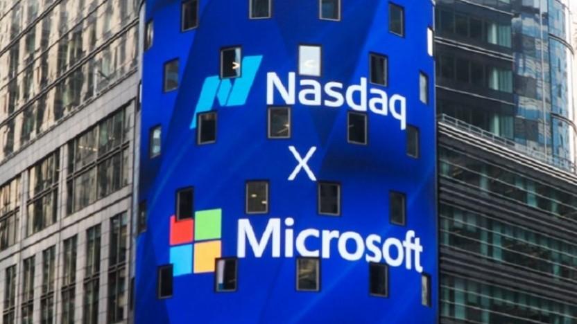 Microsoft an der Börse