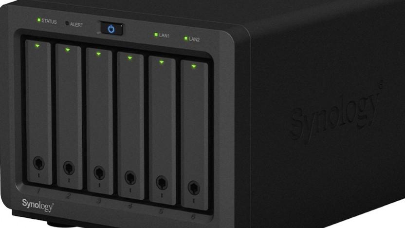 Synology bietet erstmals eine Diskstation mit sechs 2,5-Zoll-Schächten.
