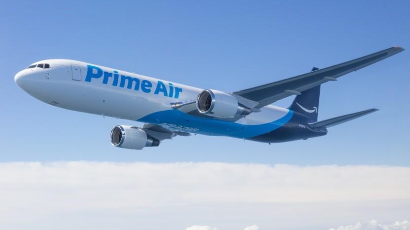 Amazon fliegt auch selbst
