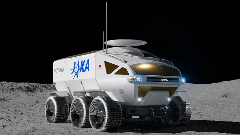 So stellt sich Toyota den neuen Mondrover vor.