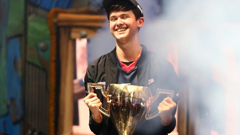 "Kyle ""Bugha"" Giersdorf hat den Fortnite World Cup 2019 in New York City gewonnen."