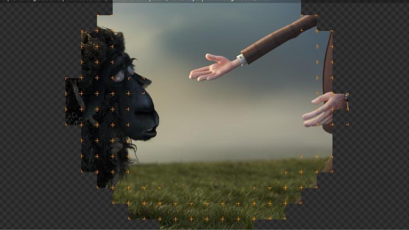 Szene aus dem Gooseberry-Benchmark