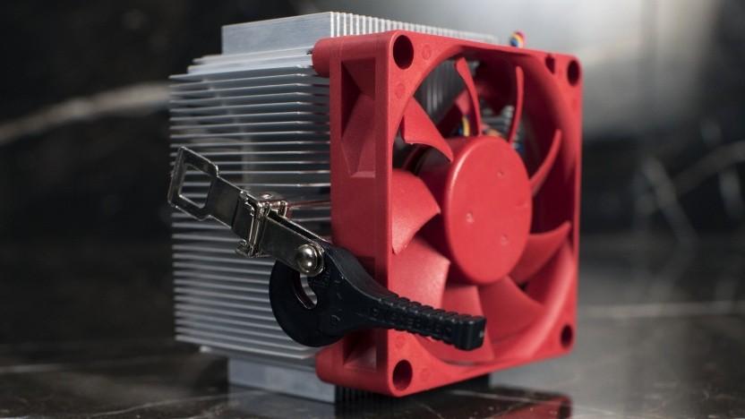 Ein älterer CPU-Kühler