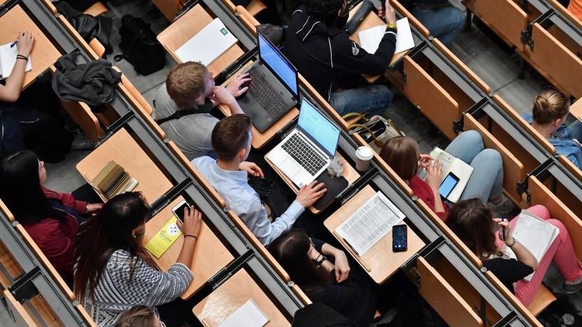 Studierende an der TU München