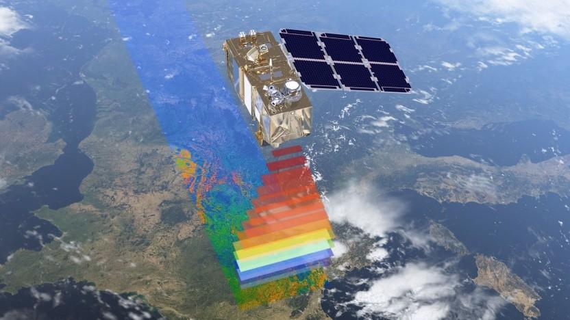 Erdbeobachtungssatellit Sentinel-2A: kaum Daten über Europas Wetterküche über dem Nordatlantik