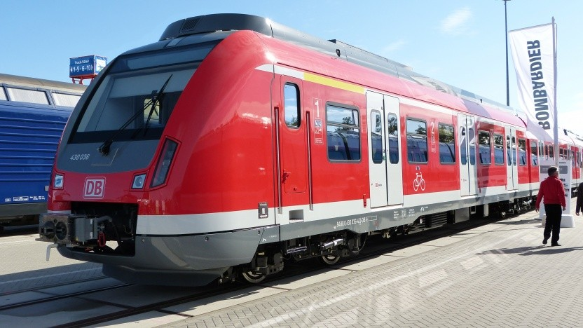 Die Baureihe 430 hat keine schnellen Türen.
