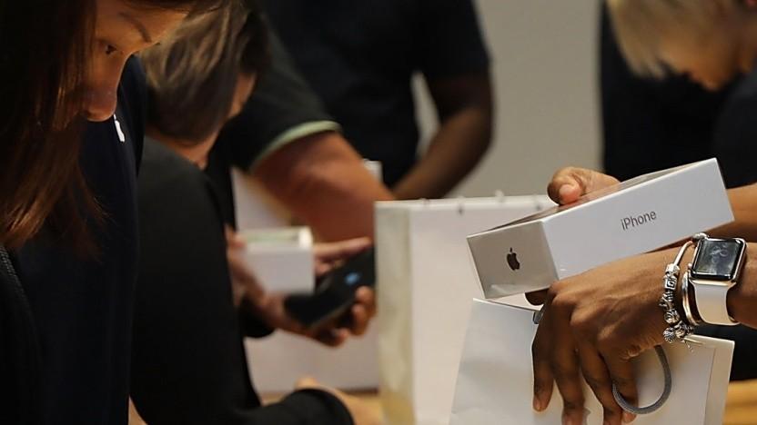 Weniger Kunden kauften bei Apple ein iPhone.