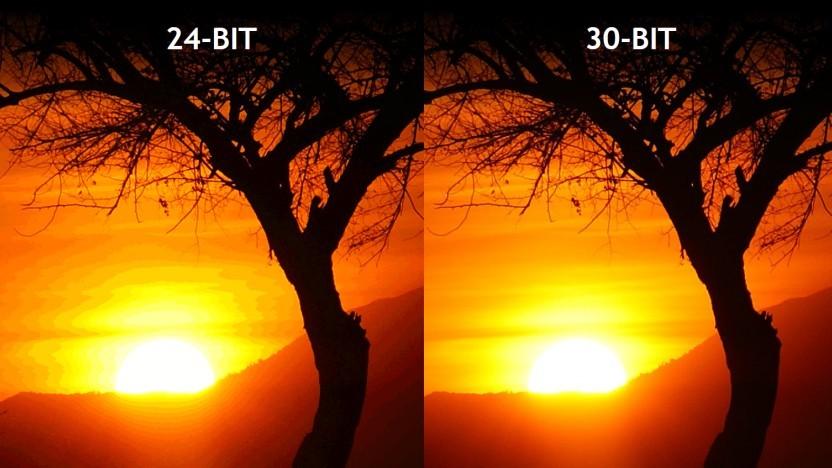 8 Bit und 10 Bit im Vergleich (Symbolbild)