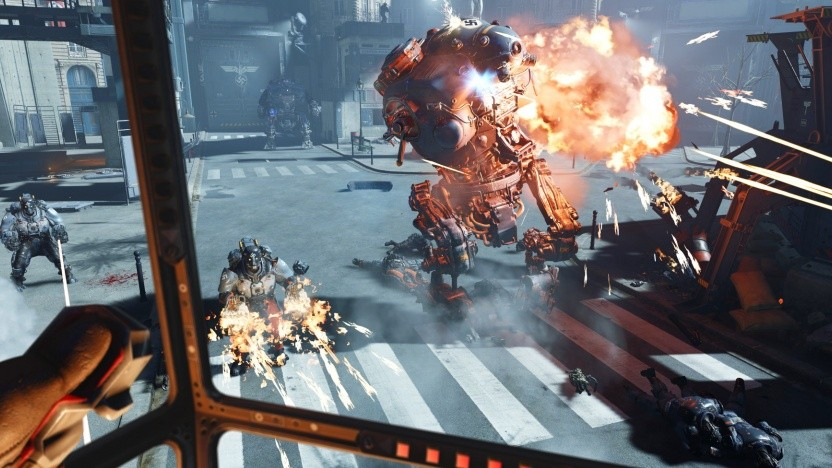 Artwork von Wolfenstein Cyberpilot