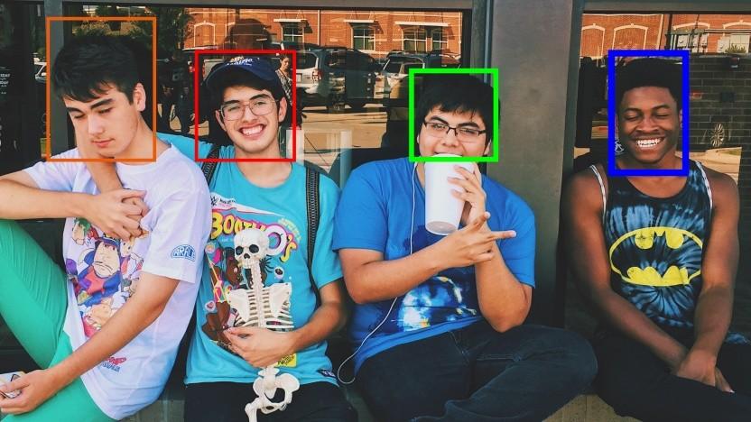 Auch Minderjährige sind vor Gesichtserkennungssoftware nicht geschützt.