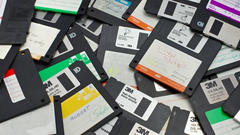 Wer kennt sie nicht: die altehrwürdige Diskette.